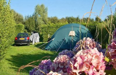 Campsite Port'Land Tent Pitch