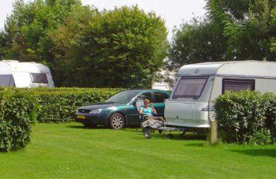 Campsite Seasonova les Mouettes Caravan Pitch