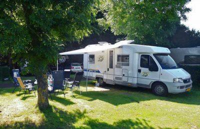 Campsite Seasonova les Mouettes Motorhome Pitch