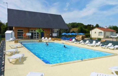 Campsite Seasonova les Mouettes Swimming Pool Complex
