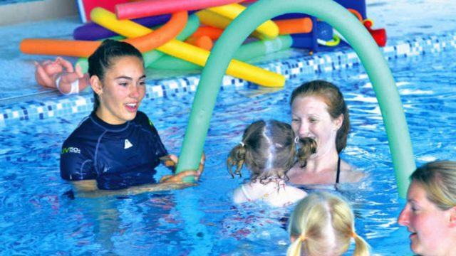 Campsite swimming facilities