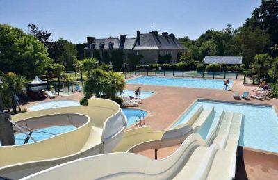 Campsite Swimming Pool Complex