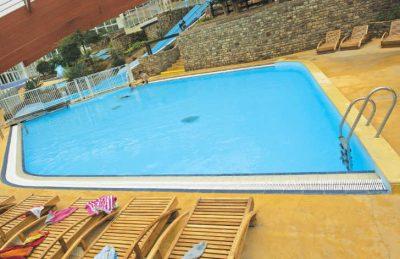 Chateau Lez Eaux Indoor Swimming Pool