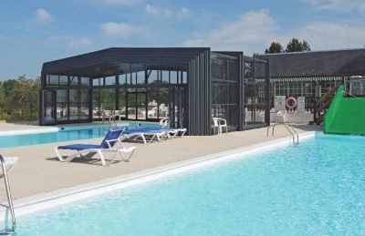 Domaine de Drancourt Covered Swimming Pool