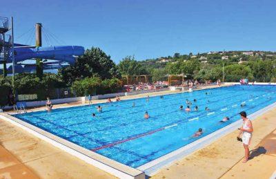 Domaine des Naiades Pool Area
