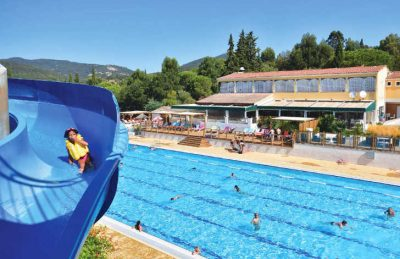 Domaine des Naiades Pool Slide