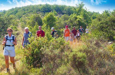 Domaine du Cros d'Auzon Activities Walking