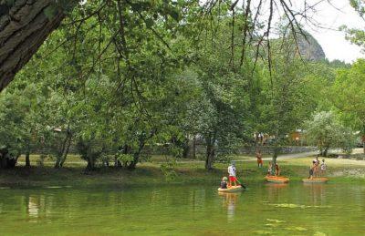 Domaine du Verdon Boating Lake