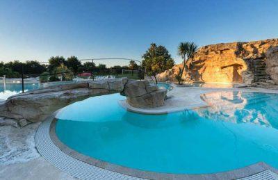 Domaine L'Orangerie de Lanniron Campsite Pool