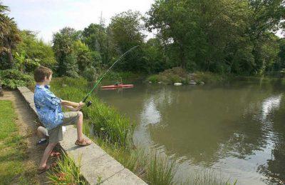 Domaine L'Orangerie de Lanniron Fishing