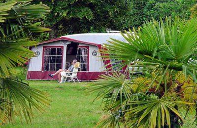 Domaine L'Orangerie de Lanniron Tent Pitch