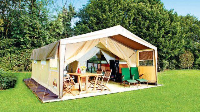 Eurocamp Safari Tent