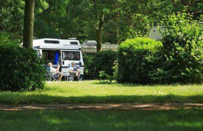 Flower Camping L'ile d'Offard Motorhome Pitch