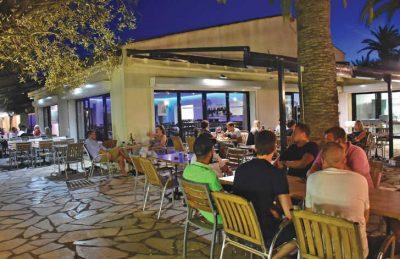 La Baume Bar Area