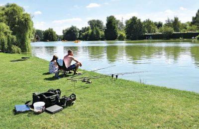 Campsite Lake Fishing