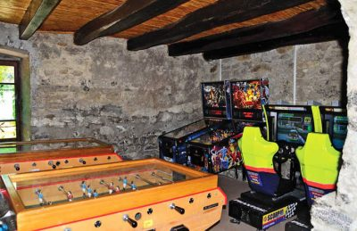 La Ferme de la Serraz Games Room Video Games