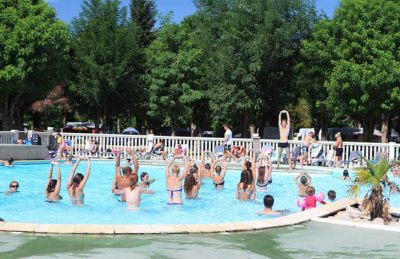 La Grande Terre Pool Fitness Class