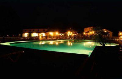 La Grande Terre Pool Night Time