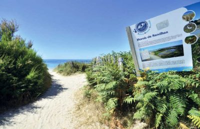 La Plage Beach Path