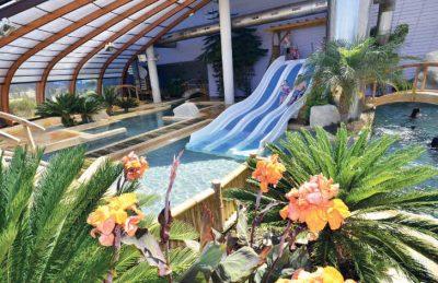La Pointe St Gilles Covered Swimming Pool Slides