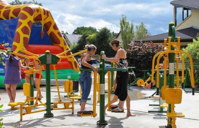 La Vallee de Deauville Play Area Fitness