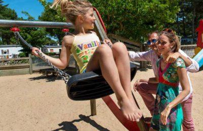Le Bois Masson Playground Swings