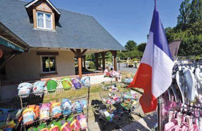 Le Chateau des Marais Shop Area