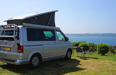 Le Chatelet Motorhome Pitch