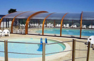 Le Chatelet Swimming Pool Area
