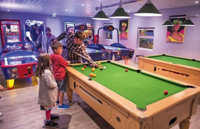 Games Room at the Campsite