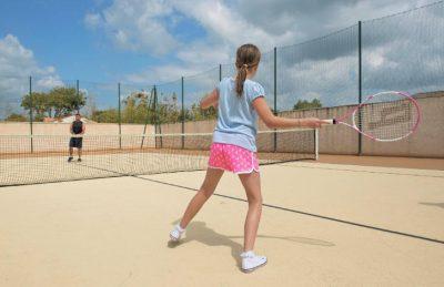 Campsite Tennis Court