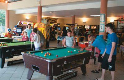 Le Parc de Fierbois Games Room