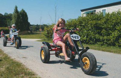 Le Parc de Fierbois Children's Trikes