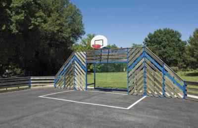 Le Pontet Campsite Sports Court