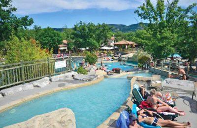 Le Ranc Davaine Pool Area