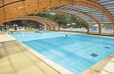 Le Soleil de Landes Covered Pool