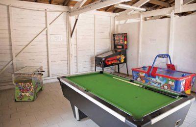 Le Soleil de Landes Games Room
