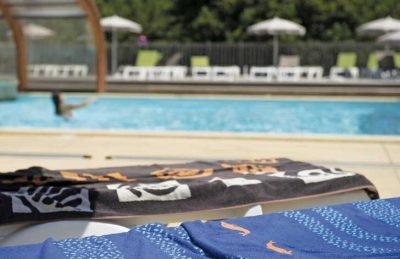 Le Soleil de Landes Pool Loungers