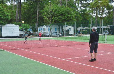 Tennis Court Area