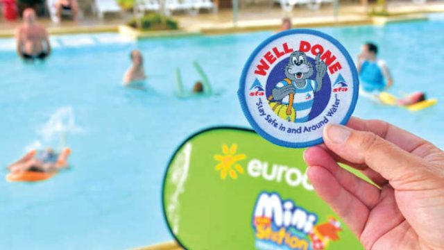 Learn to swim with Eurocamp