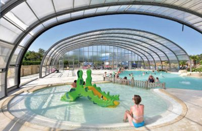 Les Alicourts Covered Swimming Pool