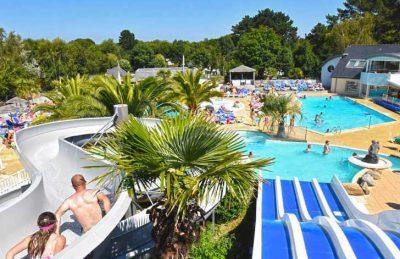 Les Deux Fontaines campsite Overview