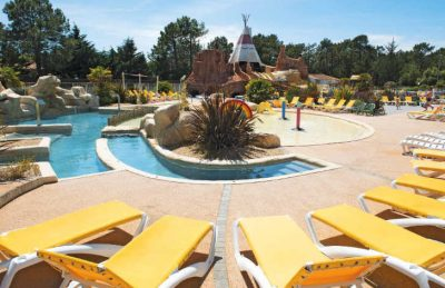 Les Genets Pool Area