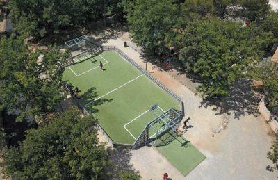 Les Lacs du Verdon Sports Court Overview