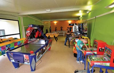 Les Mouettes Games Room