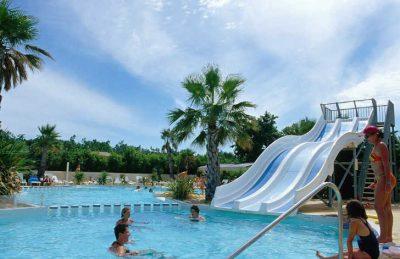 Les Sablines campsite Swimming Pool