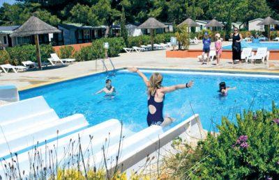 Les Tropiques Swimming Pool Fun