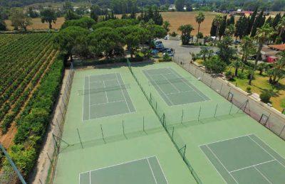 L'Etolie d'Argens Overview Tennis Court