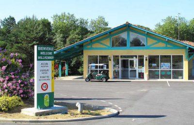 Lou P'tit Poun Campsite Entrance