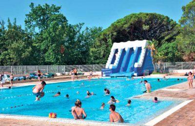 Parc St James Oasis Pool Slide